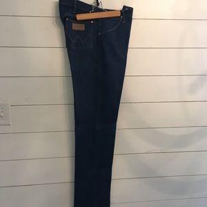 Wrangler Heavy Starch Blue Jeans